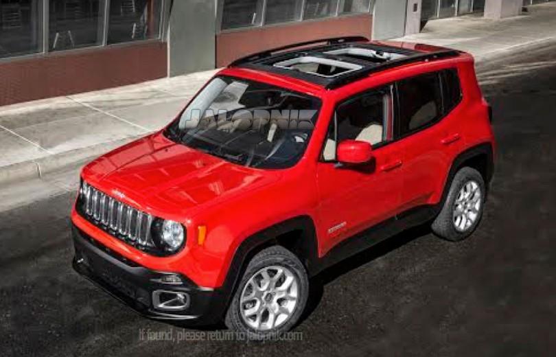Jeep viser ny babymodel