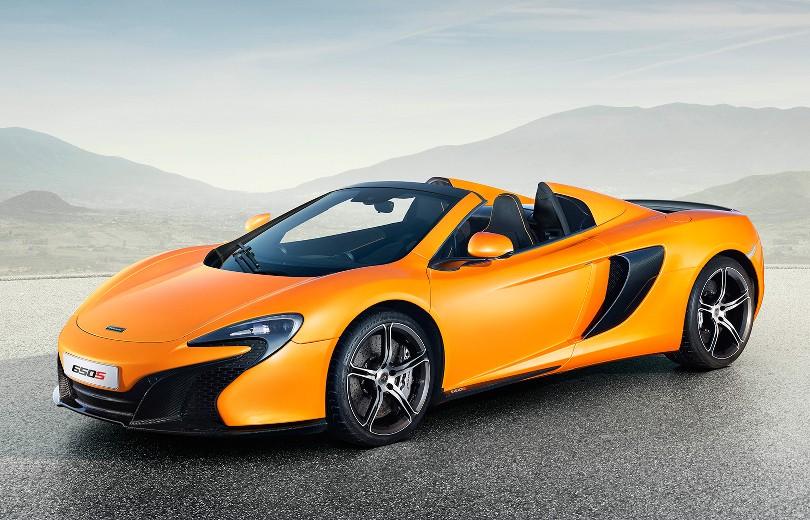 McLaren 650S Spider gør coupéen selskab