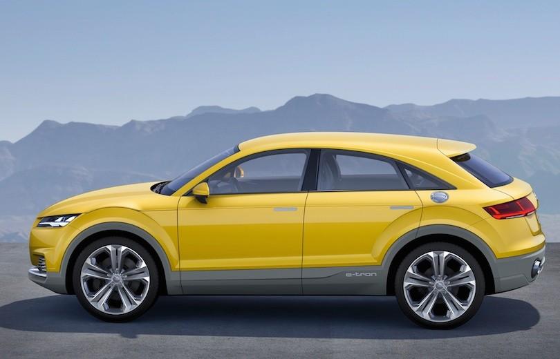 Audi TT offroad konceptbil