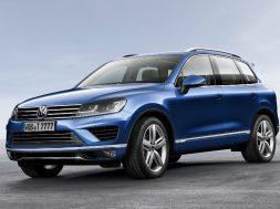 VW Touraeg facelift