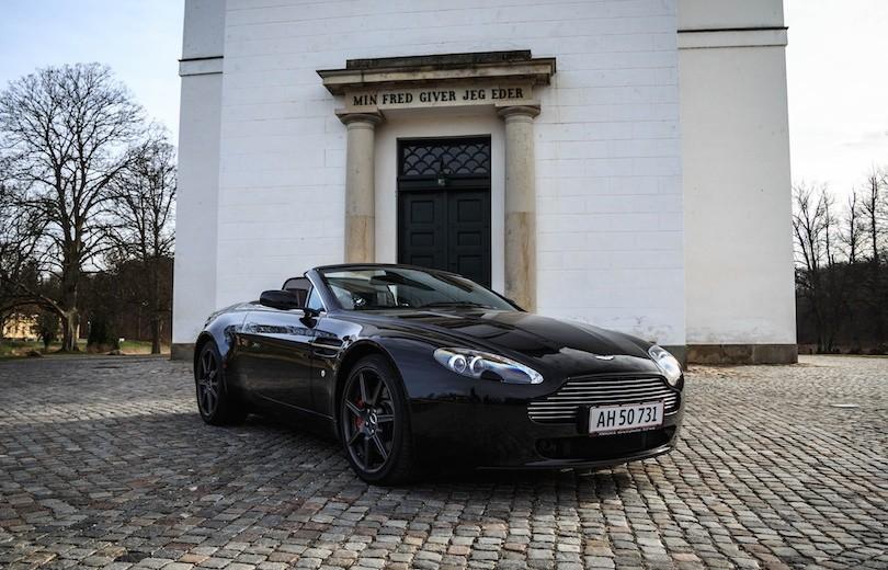 Brugttest: Aston Martin Vantage V8 Roadster