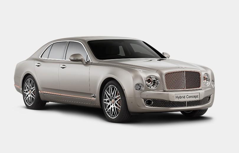Bentley bygger deres første hybrid