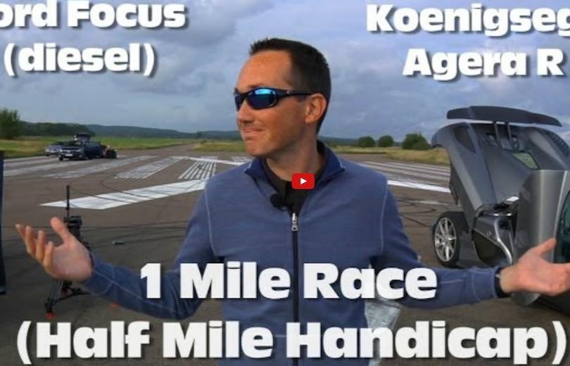 Ford Focus mod Koenigsegg Agera R