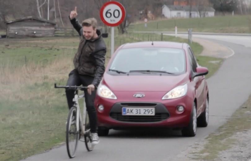 Nu må minibiler køre på cykelstierne!