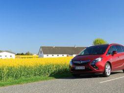 Opel Zafira Tourer test