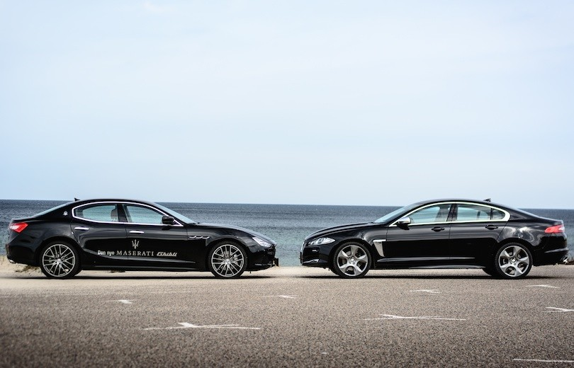Duel: Maserati Ghibli vs. Jaguar XF