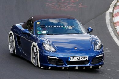 Porsche Boxster fire cylinder