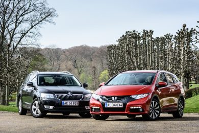 Skoda Octavia Combi vs. Honda Civic Tourer