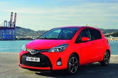 Faceliftet Toyota Yaris