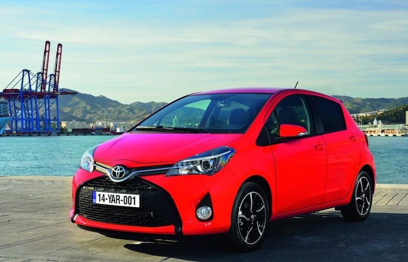 Mere om den faceliftede Toyota Yaris