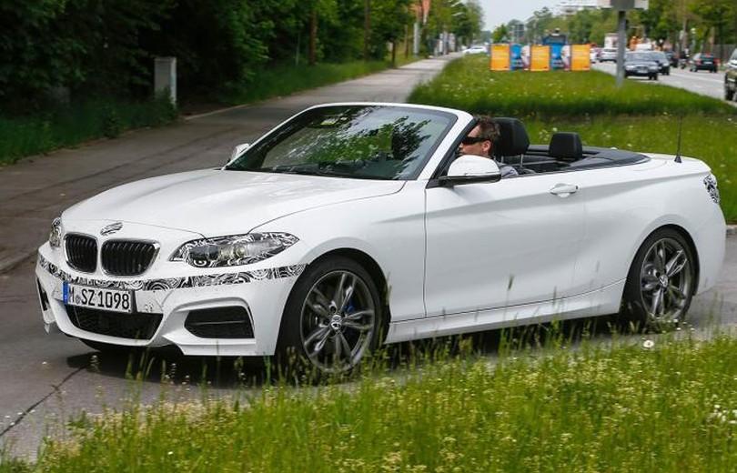 BMW 2-serie cabriolet uden forklædning