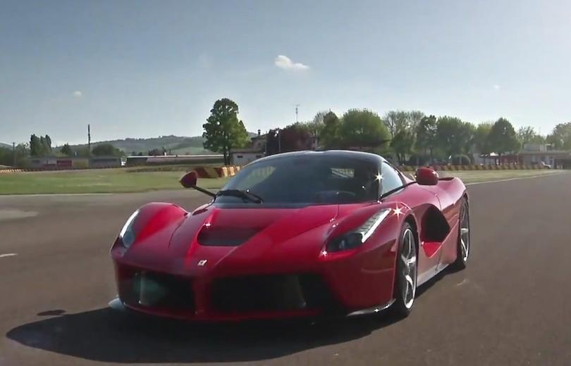 Ferrari LaFerrari XX undervejs!