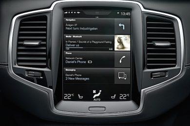 Volvo XC90 interiør