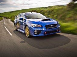 Subaru WRX STI Isle of man