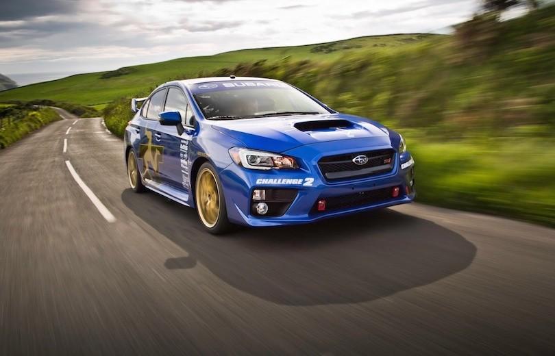 Subaru WRX STI sætter ny rekord på Isle of Man
