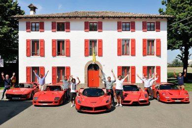 Henter Ferrari LaFerrari med stil
