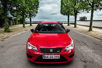 SEAT Leon Cupra test