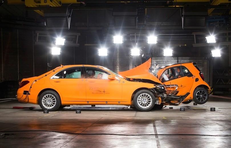 Den nye Smart ForTwo mød Mercedes S-klassen…