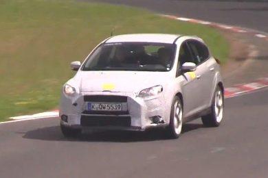 Her er den nye Focus RS på Nürburgring
