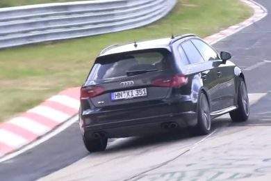 Ny Audi RS3 på Nürburgring