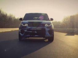 Ny Range Rover Sport SVR på Nürburgring