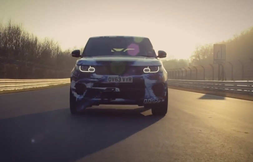 Range Rover Sport SVR er den hurtigste SUV på Nürburgring!