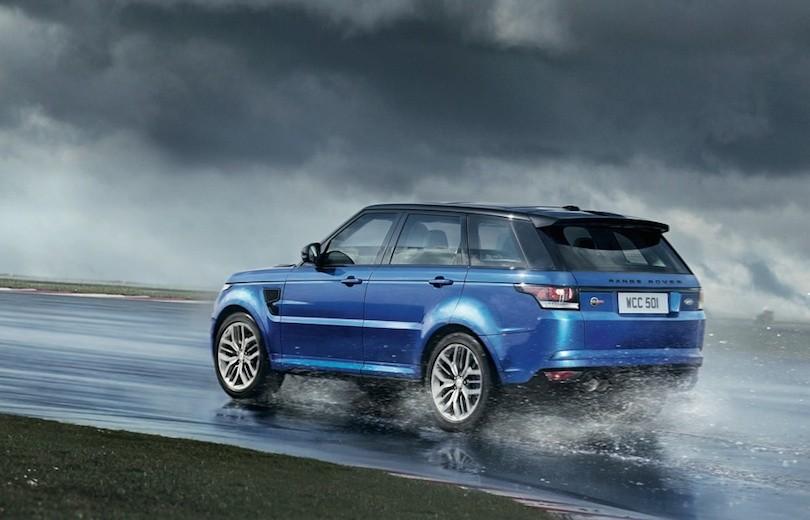 Vanvittig ny Range Rover Sport SVR