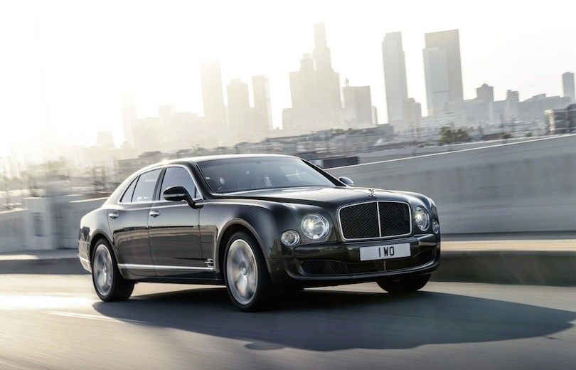 Premiere: Bentley Mulsanne Speed