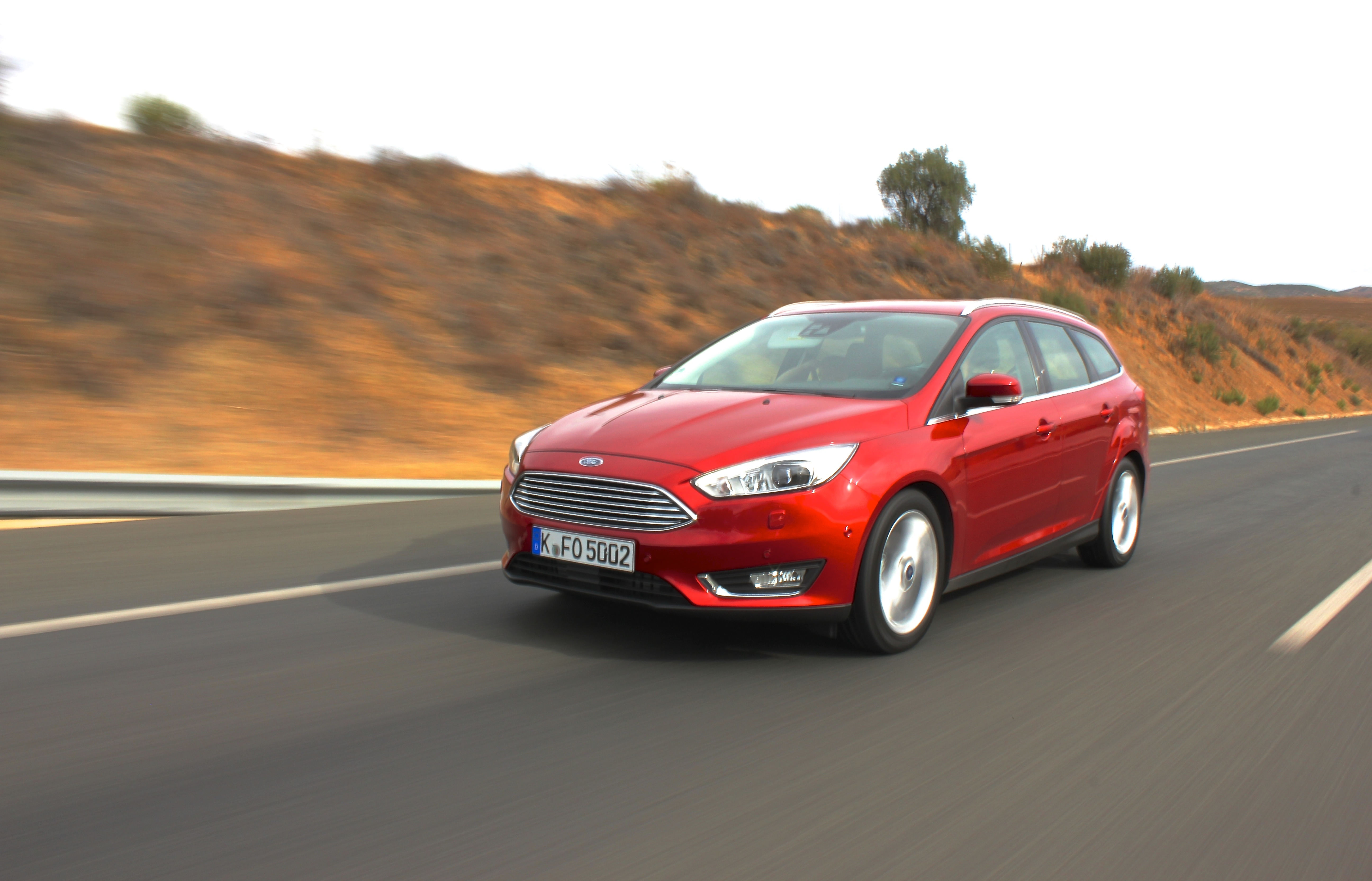 First drive: Faceliftet Ford Focus