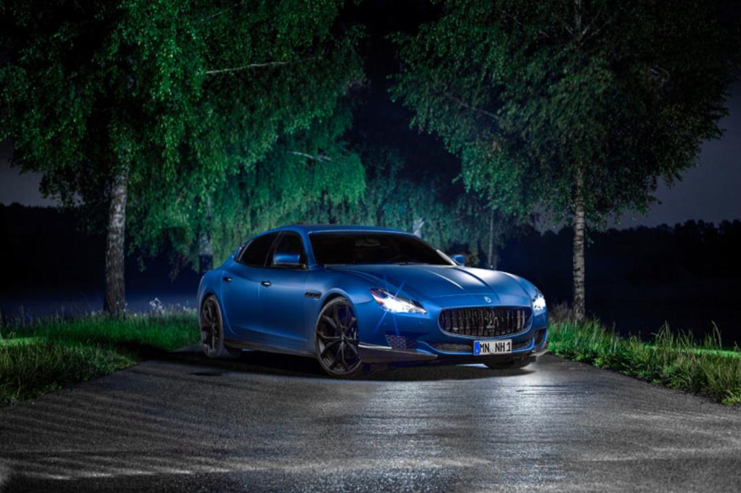 Vild Maserati: Tyskere tuner ny Quattroporte