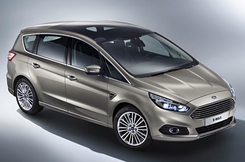 Billeder lækket af ny Ford S-MAX