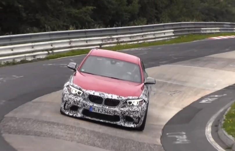 Se BMW M2 prototypen på Nürburgring