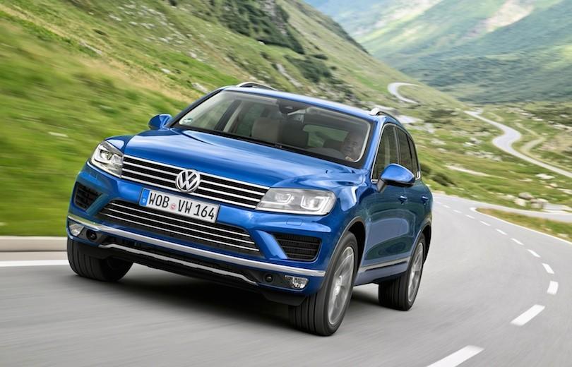 Faceliftet Volkswagen Touareg