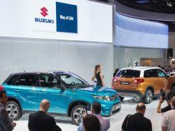 Suzuki Vitara i Paris