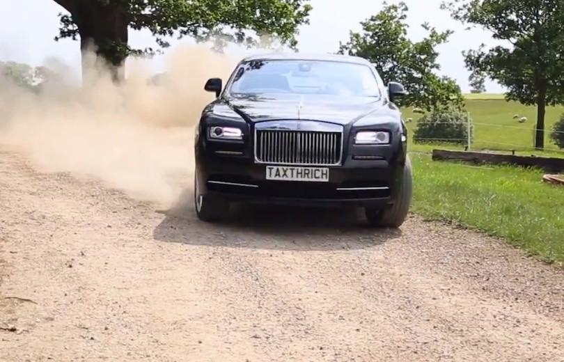 Rolls Royce Wraith som du aldrig har set den før…