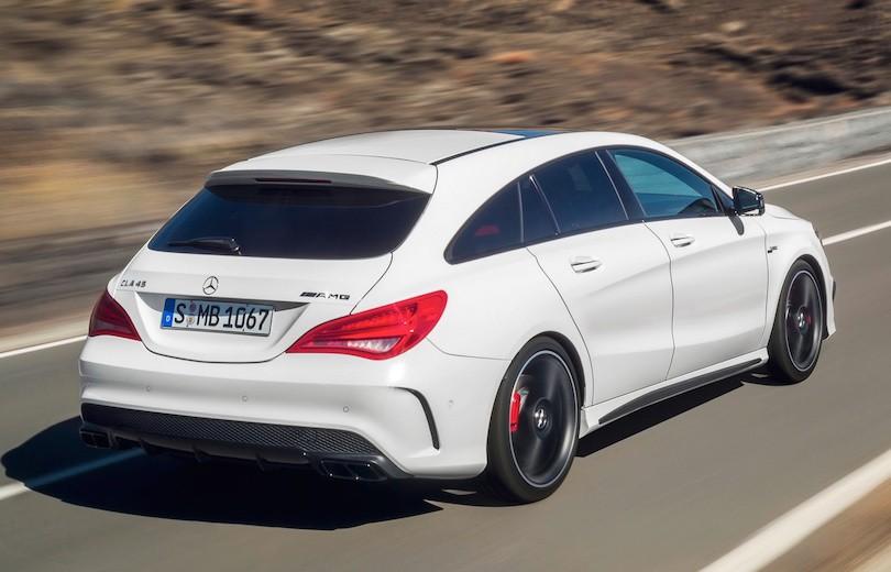 Mercedes CLA Shooting Brake AMG