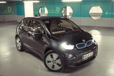 BMW i3 rex plug-in hybrid