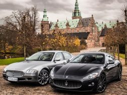 Maserati Quattroporte og Maserati GranTurismo