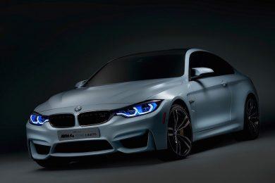 BMW M4 koncept med laserlygter