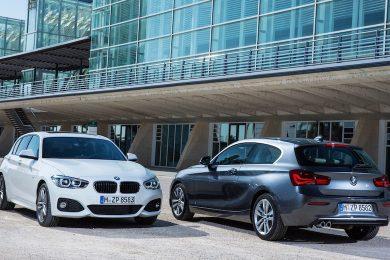 BMW 1-serie facelift