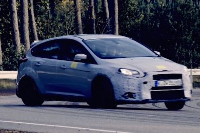 Ford focus rs forside