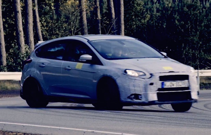 Se Ken Block i den nye Focus RS