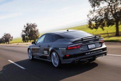 Førerløs Audi A7 kører 900 km