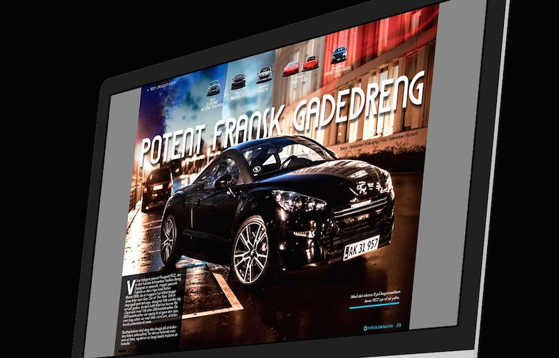 Forza Magazine januar 2015