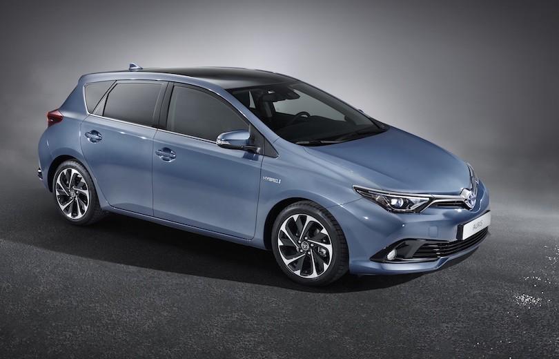 Toyota Auris bliver frisket op