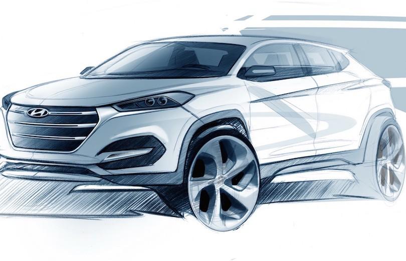 Ny Hyundai Tucson på vej til Geneve