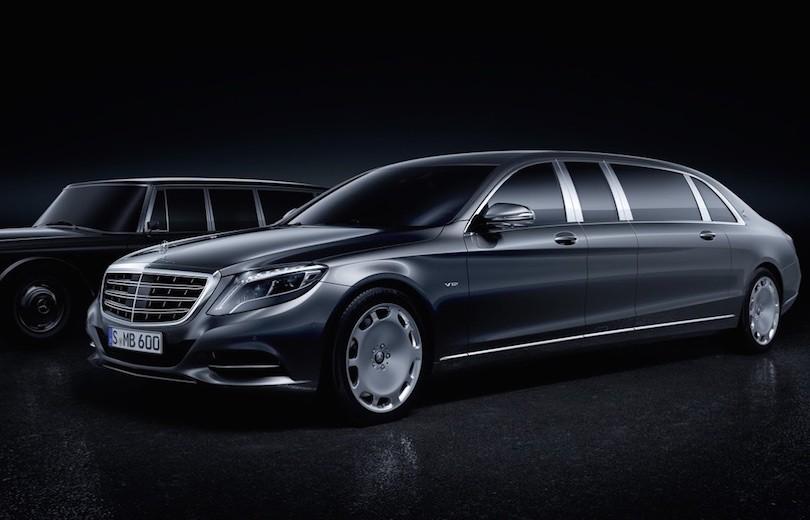 Mercedes-Maybach Pullman – 6,5 meter lang Maybach