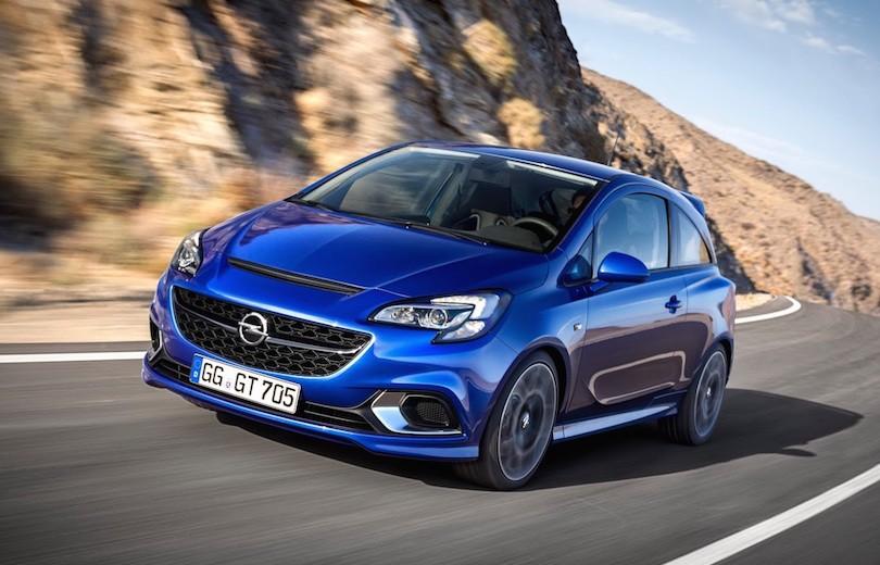 Over 200 hestekræfter i ny Opel Corsa OPC