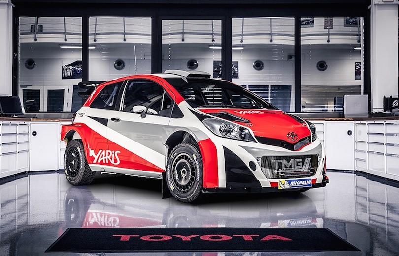 Toyota vender tilbage til VM i rally
