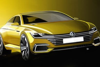 VW CC koncept
